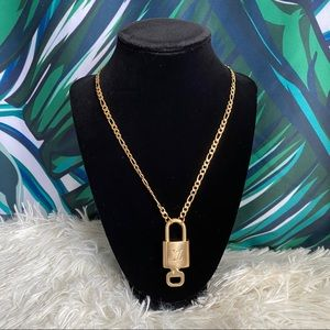 Louis Vuitton Lock and Key Necklace